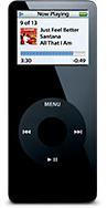 Black iPod nano