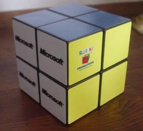Mini Microsoft Rubik's Cube