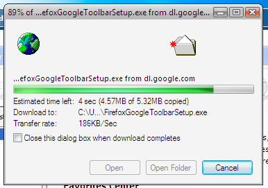 Downloading Firefox with Google Toolbar.PNG