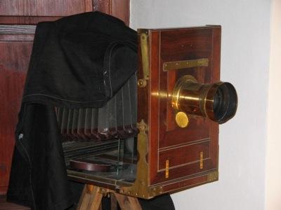 19th century studio camera