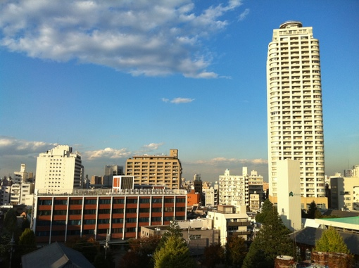 View from Rikkyo University