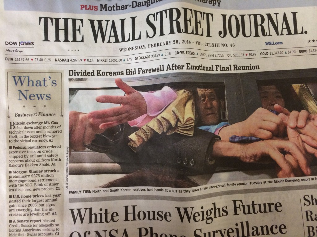 Bitcoin story in the Wall Street Journal part 1